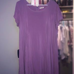 Silence and Noise Lavender dress